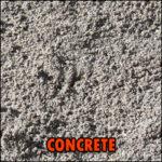 concrete sand deliverable