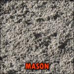 mason sand deliverable